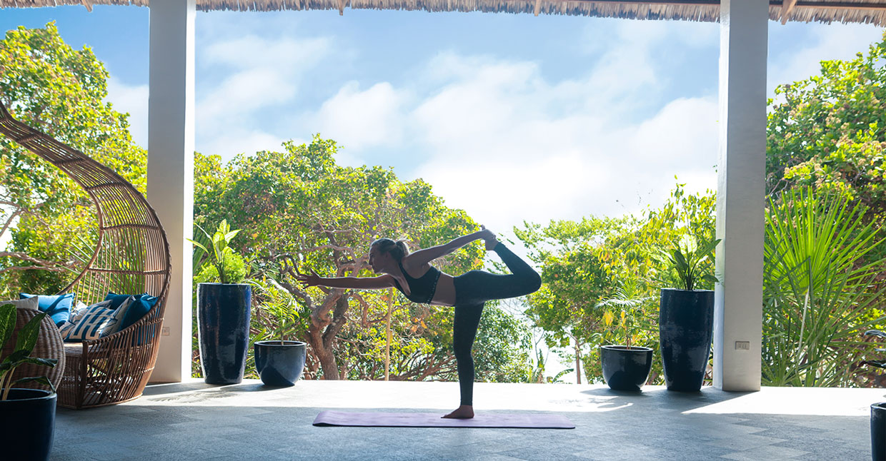 yoga friendly luxury resort
